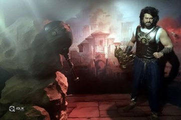 Wax Statue of Young Rebel Star Prabhas as Baahubali at Madame Tussauds Bangkok