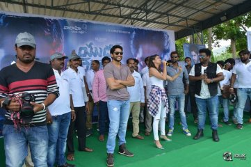 Yuddham-Sharanam-Team-at-Vizag-CEC-College