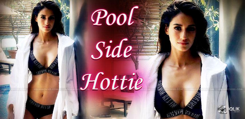 disha-patani-in-lingerie-near-a-pool